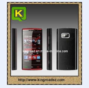 Il mini quadrato X6 lega il telefono mobile doppio (facoltativo) della carta TV di WiFi con Java