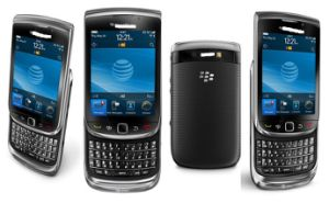 Bleckberri Torch 9800 4GB Negro (desbloqueado) Envío rápido smartphone