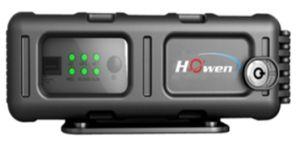 4CH Dual Sd Vehicle Blackbox DVR Sd Card DVR für GPS Positioning Terminal und Vehicle Management System