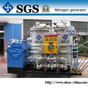 ステンレス製の製鉄業のための窒素の発電機