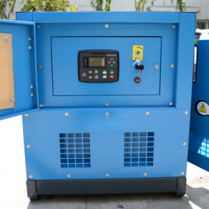 kleiner Motor-leiser Typ Dieselgenerator-Set der Energien-24kw