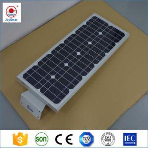 Fabricante de China, todo en uno de alta potencia LED Solar integrada de la luz de la calle, 60W 70W 80W Lámpara de calle solar integrada