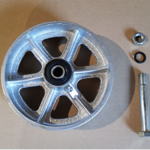 125mm 5dans la roue en acier robuste de Castor
