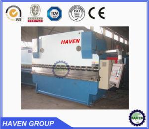 La serie de alta calidad WC67 freno hidráulico de presión, el CNC máquina de Bender