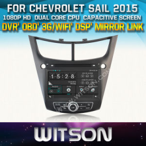 Lettore DVD dell'automobile di Witson con il GPS per la vela della Chevrolet