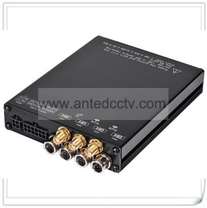 1080P 4 Channel Mobile DVR Sd Card Video Recorder mit GPS Tracking 3G 4G WiFi
