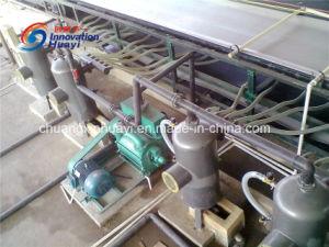 Deshidratación de lodos mineros Filtro de la correa de vacío para la deshidratación de yeso