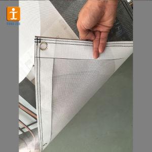 Для использования вне помещений на основе ПВХ, Сетчатый баннер, виниловом баннере (TJ-01)