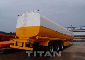 3つの車軸燃料タンクのトレーラートレーラー40000リットルの燃料のタンカーの