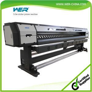 ベストセラーのCheapest DIGITAL Poster Printing Machine、2 Dx5 HeadのEco Solvent Printer