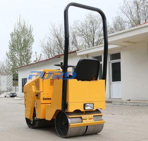 800kg二重ドラム振動の小型道ローラーCompactpor