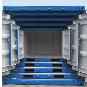 8FTの10FT鋼鉄安全な立方体の携帯用移動式小型記憶の輸送箱
