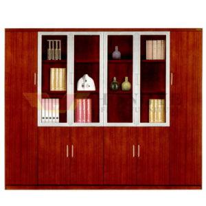 Folheado de madeira antigo mobiliário moderno Livro Office Gabinete (HY-C907)