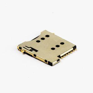 Conector da placa SIM Micro 1,35mm de altura com tipo SMD