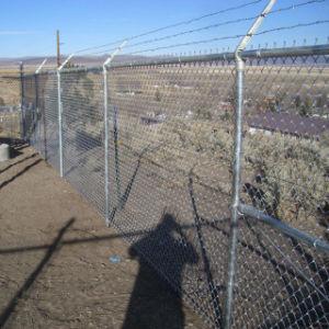 石油およびガスの健康なサイトのためのチェーン・リンクの塀のモジュラーパネル