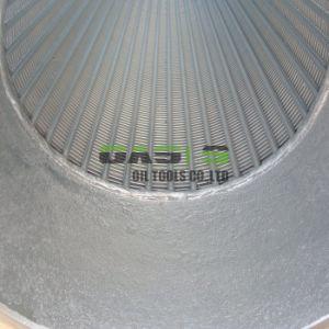 De hete Pijpleiding van het Scherm van de Pijp van de Filter van de Draad van het Water van het Roestvrij staal van de Vervaardiging