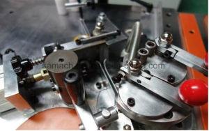 Manumotiveのカーブおよびはさみ金の端のバンディング機械