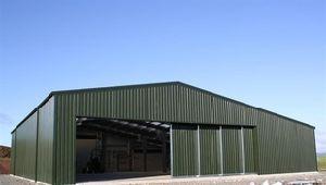 車の記憶(KXD-SSB1224)の鉄骨構造の倉庫