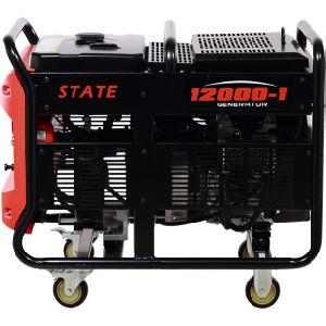 9500W бензиновый генератор с электроприводом и начать