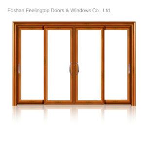 熱販売しなさいDistributor Wanted (FT-D143)によってテラスのドアを滑らせるアルミニウムを