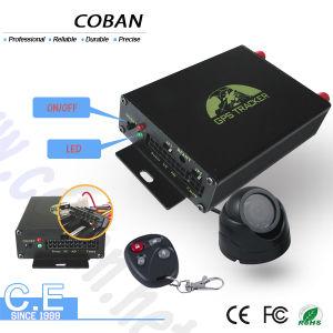 Doppel-SIM Karten-Fahrzeug GPS, das Einheit-Stützkamera und Temperaturfühler (coban, aufspürt TK105b)