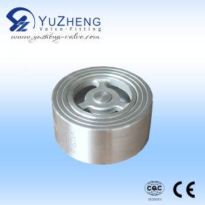 Válvula de cheque del acero inoxidable H71