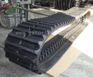 500*90*82 de Sporen van de Kipwagen van de Vervangstukken van de Machines van de bouw voor de Machine van de Tractor van Yanmar Morooka