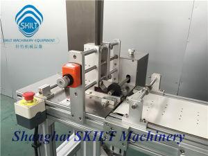 Etichettatrice di plastica adesiva automatica di Pounch del sacchetto di plastica della tabulazione di caduta