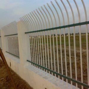 建築材料の塗られる粉が付いているステンレス製にSecruityの鉄の鋼鉄囲うことおよび塀のピケットのパネル