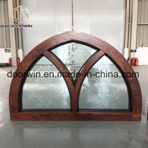 Transversal fija ventana con vidrio tallado