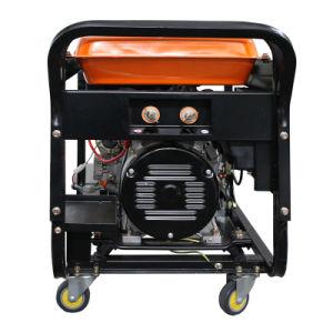 De grote Diesel van de Macht Generator van de Lasser met Oranje Kleur (Merk ETK)