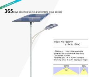 Exterior de aluminio fundido nunca Brite La Iluminación Solar Farola