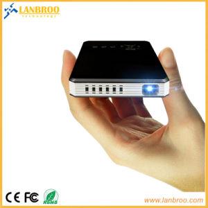 WiFi Android Mini Smart проектор с HDMI-В/выход HDMI, коррекция трапецеидальных искажений 8ГБ/16 Гб/32 ГБ 0.3DMD 100 лм 120 дюймов большой экран
