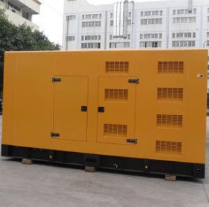 Insonorisées Démarrage automatique de type fermé 500kVA Puissance générateur diesel avec moteur Cummins