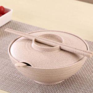 3 شبكة مع غطاء قمح [بنتو] صندوق موجة دقيقة طعام قابل للتفسّخ حيويّا [ستورج كنتينر] [دينّرور] يثبت لأنّ نزهة يخيّم سفر