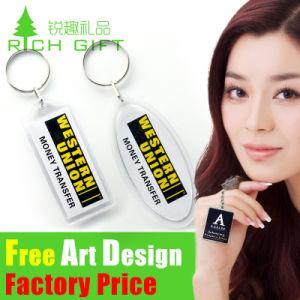 記念品のギフトとして卸し売り高品質カスタムアクリルのKeychain