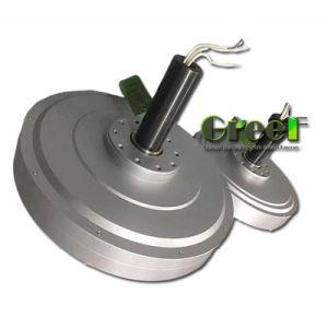 generatore di vento a magnete permanente di Coreless RPM del peso basso basso basso di coppia di torsione di 10kw 100rpm, generatore assiale di Coreless di cambiamento continuo