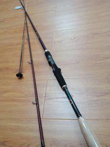 Pesca Rod di bambù del pezzo fuso di esca del carbonio della mosca per l'intera vendita