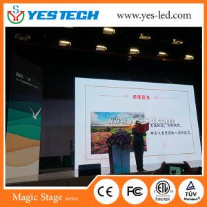 Stade de location de couleur de fond écran du panneau LED SMD de l'événement