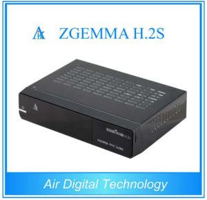 쌍둥이 DVB-S2 인공 위성 수신 장치 리눅스 E2 텔레비젼 상자를 가진 가득 차있는 HD PVR 3D Zgemma H. 2s