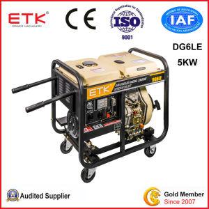 5kw強い力のディーゼル発電機