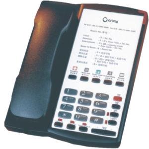 Telefoon van de Logeerkamer van het hotel de Mini Geribde