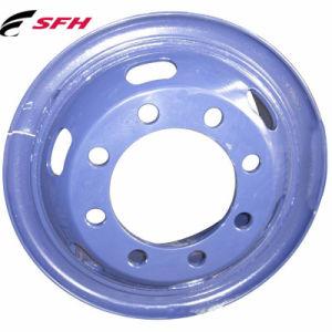 Roue en acier Roue en acier de camions lourds Rim et roue (7.50V-20)