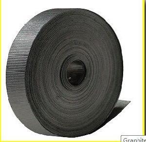 Кран сетку Графит Графит Crinkled уплотнительной лентой ленты / ребристой ленты 10 мм*0,5*10m