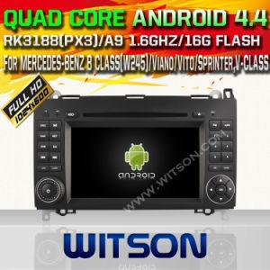 Sistema Witson Android Market 4.4 aluguer de DVD para Mercedes Benz Classe B