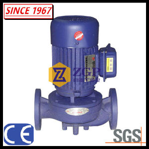 En acier inoxydable entraînée par moteur électrique centrifuge Pompe en ligne verticale