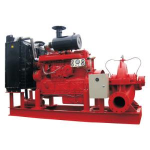 La bomba de agua contra incendios con motor Diesel