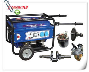 Sale caldo 5.0kw Gasoline Generator Set /Single-Phase Singolo-Cylinder, Aria-Cooled Copper 100% Generator Genderator Set