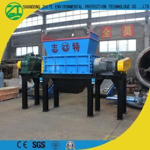 고무 분쇄 시스템에 의하여 이용되는 타이어 슈레더