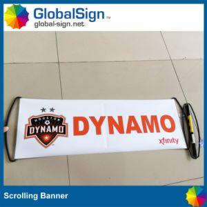 ペットファン圧延を広告する、手持ち型のスクローリング旗(GHSC-L)